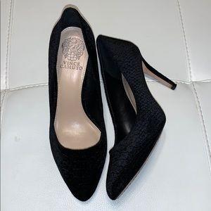 Vince Camuto  VC Langer black heels. Size 8,5.